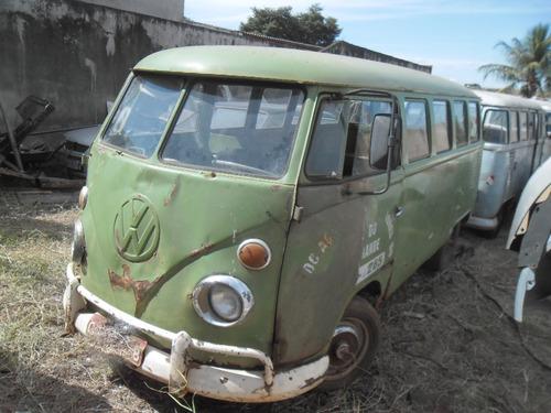 vw kombi corujinha p/ restaurar estrutura boa sem motor