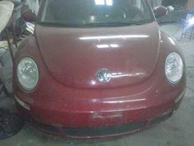 vw new beetle * dado de baja*  sin choque completo
