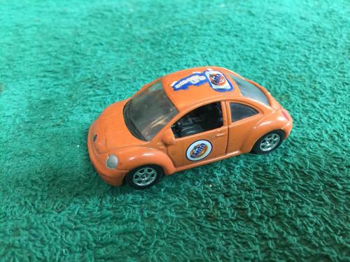 vw new beetle escala 1/64 carrito fanta