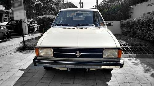 vw passat 1.6 ls / 82-1982 placa preta raríssimo