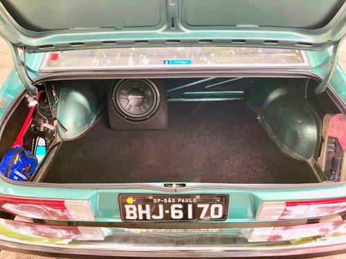 vw passat ts - 1980 - placa preta - cor verde turmalina