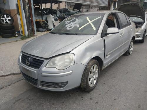 vw polo sedan 1.6 8v confort 2008 (sucata somente peças)
