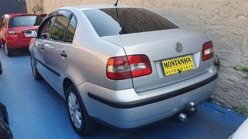 vw polo sedan  1.6  ano 2004  montanha automoveis