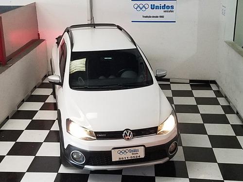 vw saveiro 1.6 cross cab. dupla flex - com ipva 2019 pago