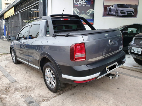 vw saveiro cross cabine dupla 2018 connect 17.000 km