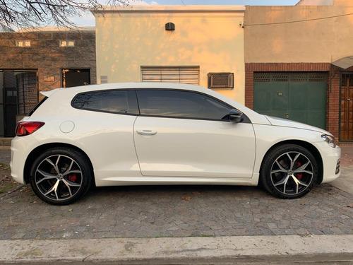 vw scirocco gts 2.0 tsi dsg coupe 2017  blanco automático