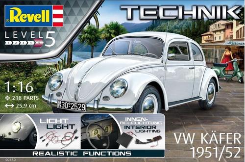 vw sedan revell 00450 pichirilo escarabajo 1/16 nivel v