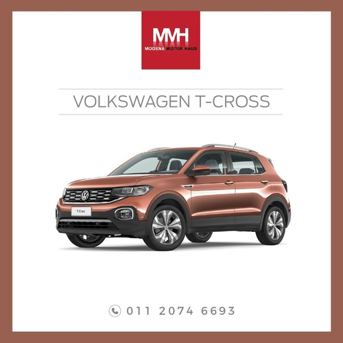 vw t-cross adjudicadas100%. una inversion que se disfruta ya