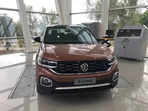 vw t cross highline at 3