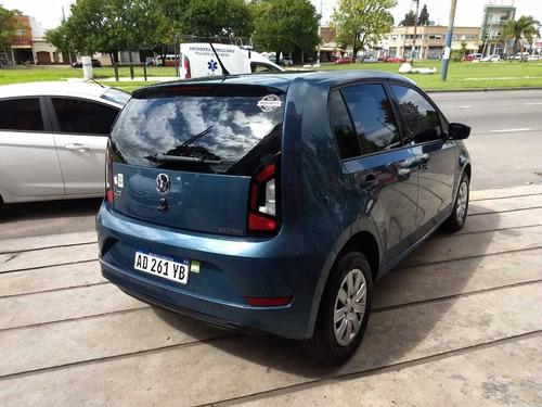 vw take up 1.0 aa da modelo 2018 20000 km color azul