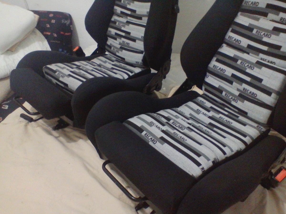 Vw tela vestidura asiento recaro bordada y sellada for Sillas para coche grupo 2