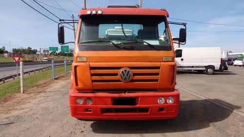 v.w titan 2003/03 4x2 laranja (1542)