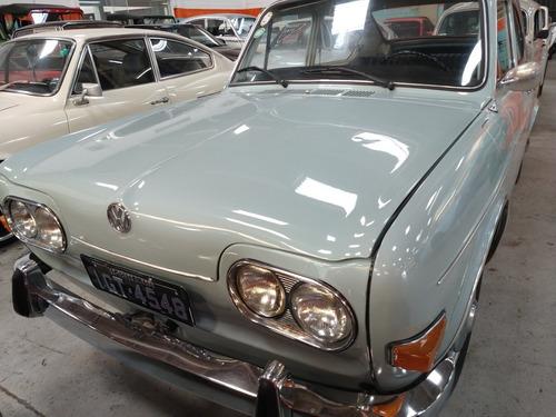 vw - tl 1.600 - 1971 - placa preta