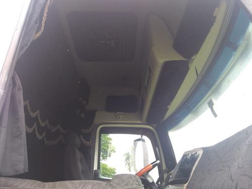 vw truck constellation 24250 - baú 11m - leito - teto alto