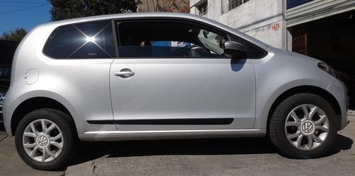 vw up! 3 puertas baguetas laterales + protectores paragolpes