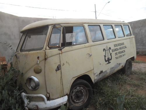 vw van kombi 1973  - p/ restaurar geral ou usar peças