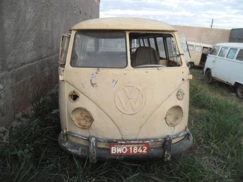 vw van kombi 1975  - tem documento - p/ restaurar geral