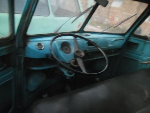 vw van kombi luxo 1961  docks ok rodando completa motor 1200