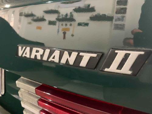 vw variant ii  variantão  - 1980 - original - verde indaiá