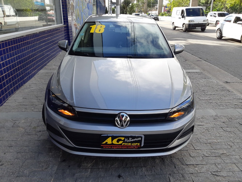 vw volks polo hatch 2018 prata 1.0 mpi flex ud 16000 km comp