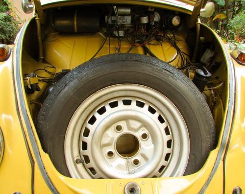 vw volkswagen 72 1972 fusca 1.500 amarelo colonial