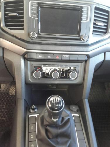 vw volkswagen amarok comfortline 4 x 2 manual doble cab 0km