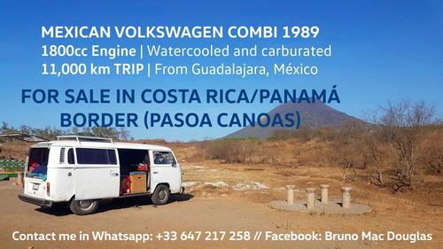 vw volkswagen combi bus 1989 motor 1800 enfriado por agua