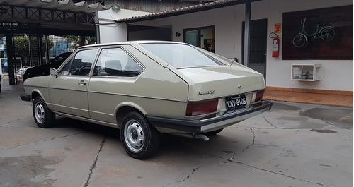 vw - volkswagen - passat ls 1.6 placa preta 1980 1980