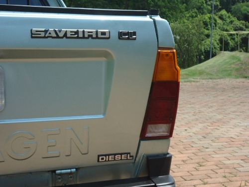 vw - volkswagen saveiro  diesel  1.6 cl 1988
