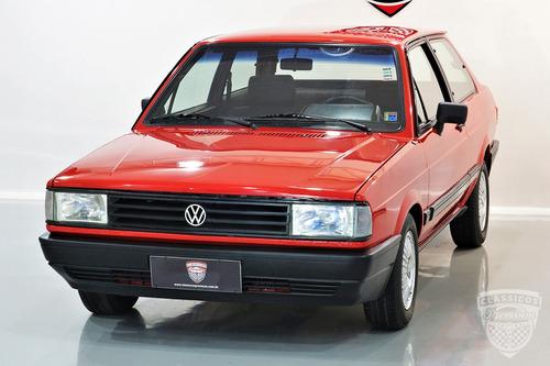 vw volkswagen voyage gls 1.8 1987 87 vermelho gt gti gts