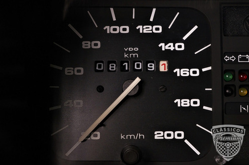 vw voyage cl 1994 94 - 8000 km original - baixa km - antigo