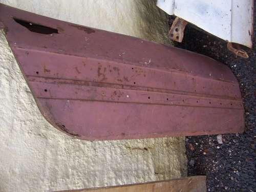 vw zsp-2 sp2 porta lado direita somente lataria p/ restaurar