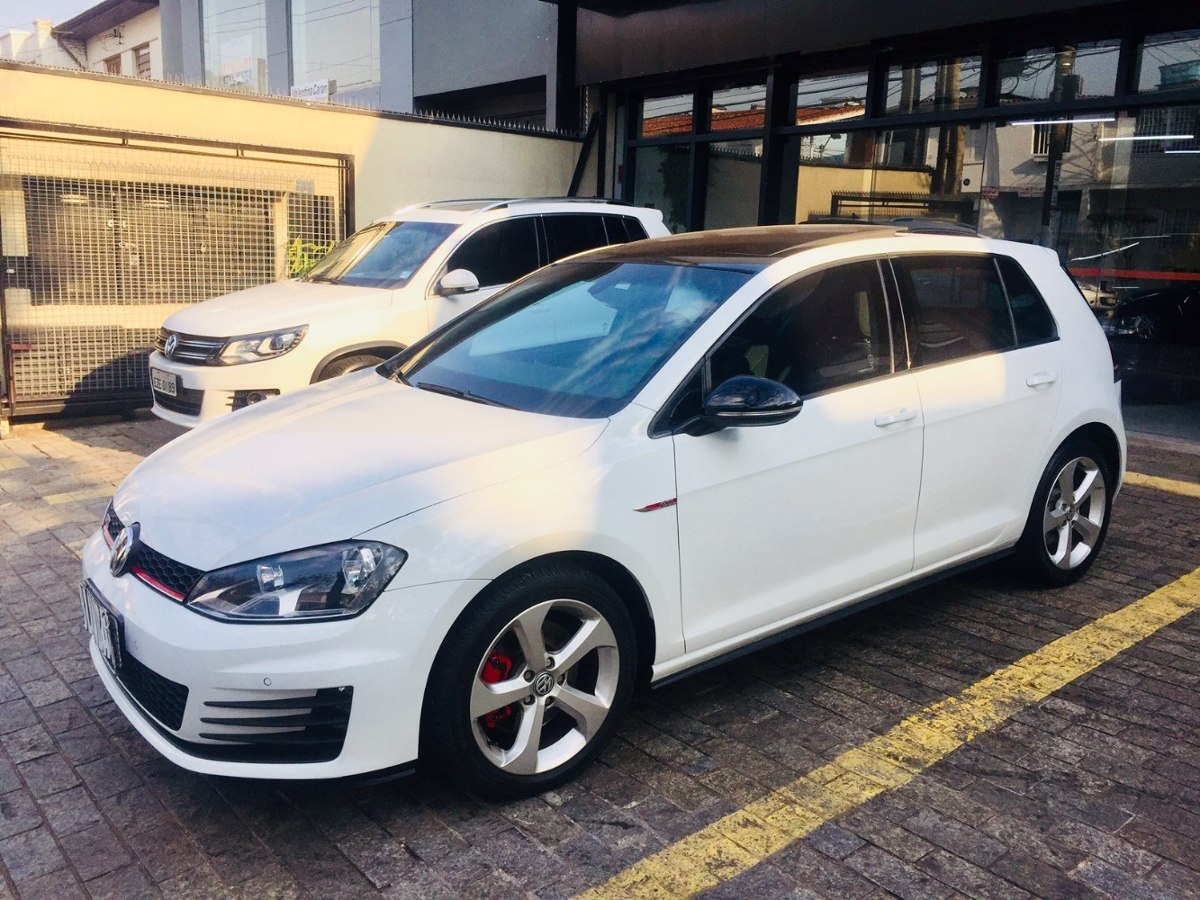 Vw\golf Gti 2.0t 2014/2014 Branco Blindado 60mkms