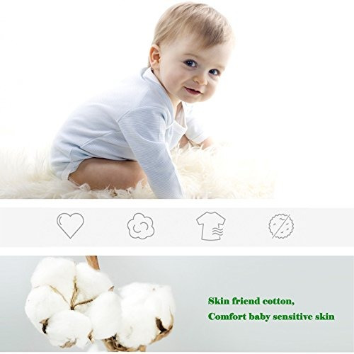 vwu 6 pack baby no show socks toddler calcetines de algodón
