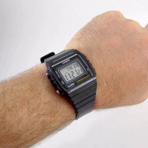 72ab7ef60ad W-215h Relógio Casio Padrão Digital Preto Prova Dágua 50m - R  169 ...