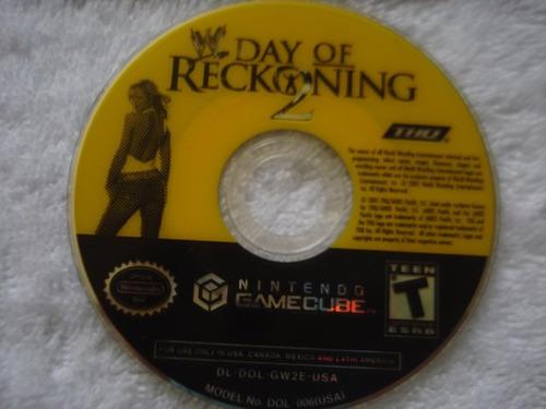 w day of reckoning 1 y 2 nintendo gamecube y wii
