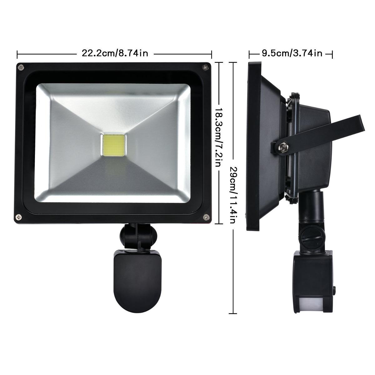 W lite 30w led motion sensor flood lights outdoor pir induc lights outdoor pir induc cargando zoom aloadofball Gallery