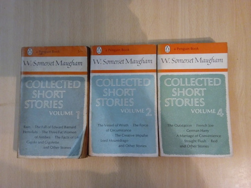 w. somerset maugham collected short  stories