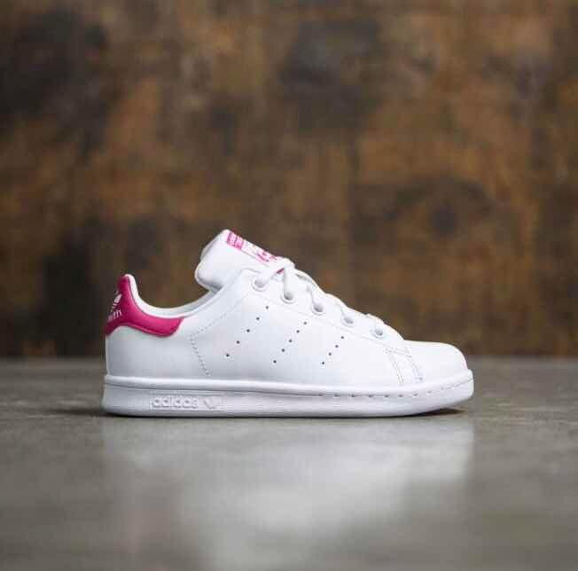 39b467197ca ... new zealand w tenis adidas stan smith blanco rosa piel 22 original  5f993 ec163