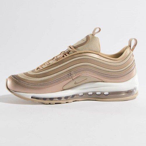 zapatos nike dorados mujer