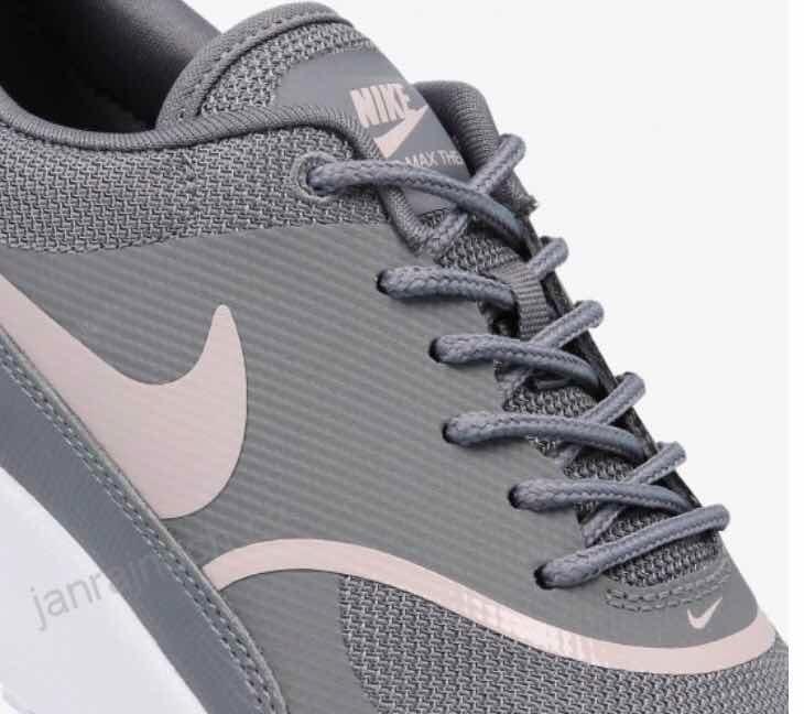 9101a72a43 W Tenis Nike Air Max Thea Gris C  Rosa  5.5 Mx 100% Original ...