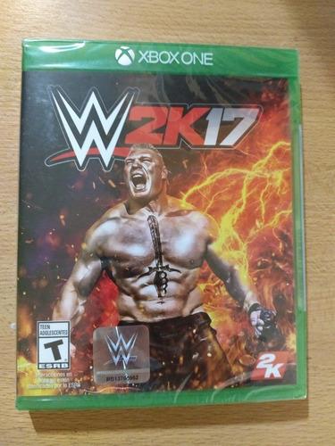 w2k17 xbox one juego nuevo sellado