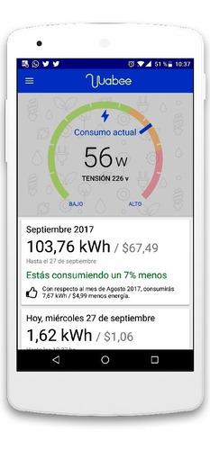 wabee home energy. medidor de consumo eléctrico inteligente