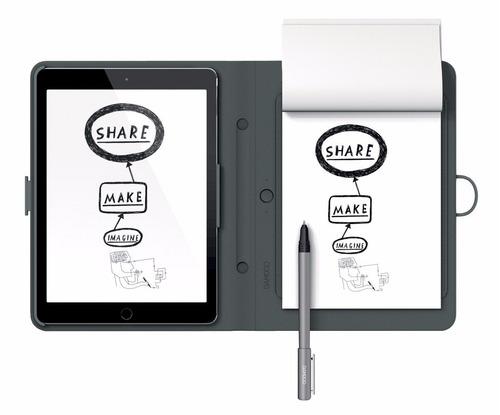 wacom bamboo spark cds600p with tablet sleeve gris