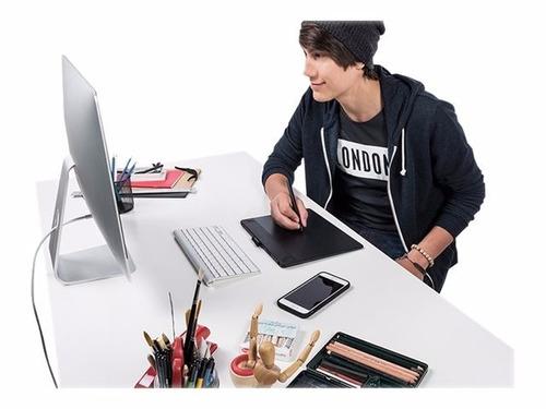wacom intuos art medium cth690ak digitalizador multitáctil u
