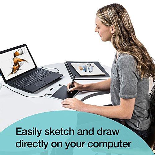wacom intuos draw ctl490db dibujo digital y tableta gráfica