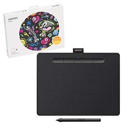 wacom intuos wireless graphic with 3 bono software icb techs