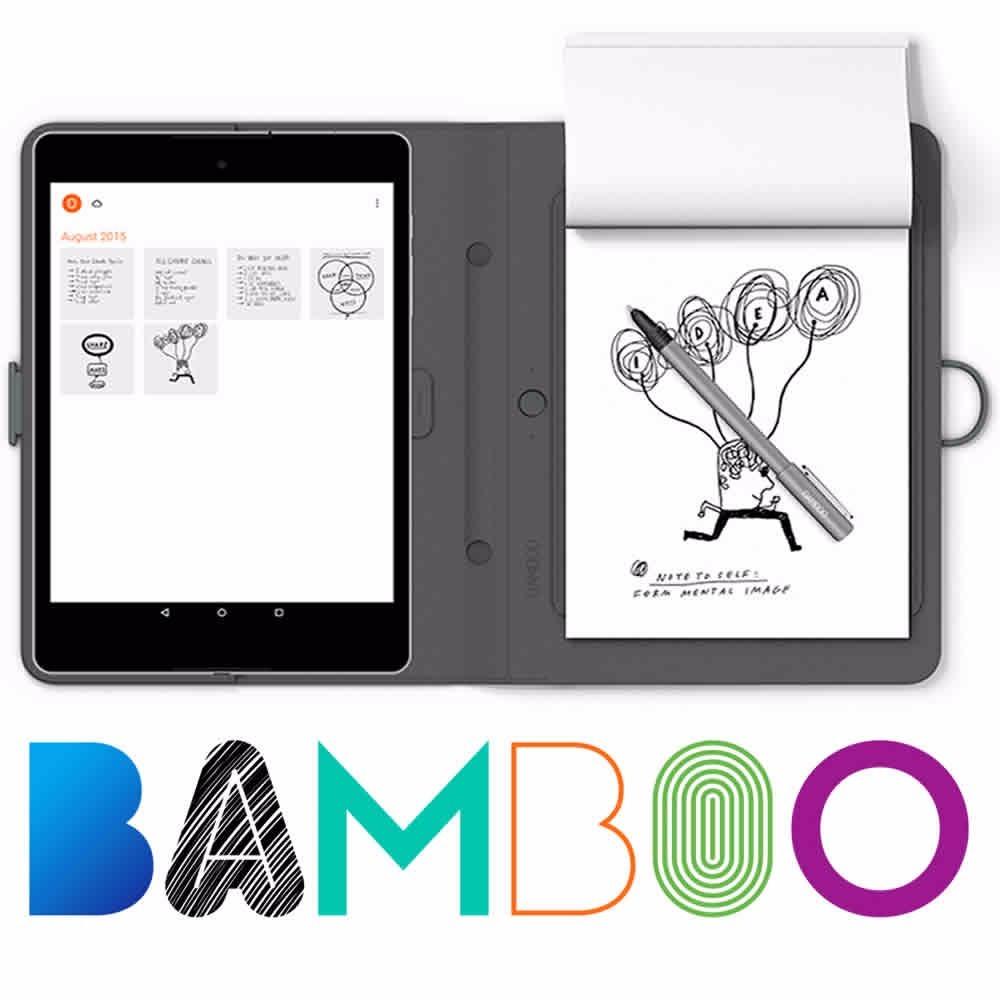 Wacom Smartpad Bloc Inteligente Bamboo Folio Small Cds610g