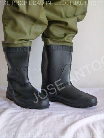Waders Con Botas Pvc Pesca Inundaciones Motos Excelentes !! -   999 ... 9b06e0f486dbd