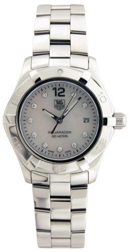 waf1415.ba aquaracer diamante del reloj tag heuer de la muj